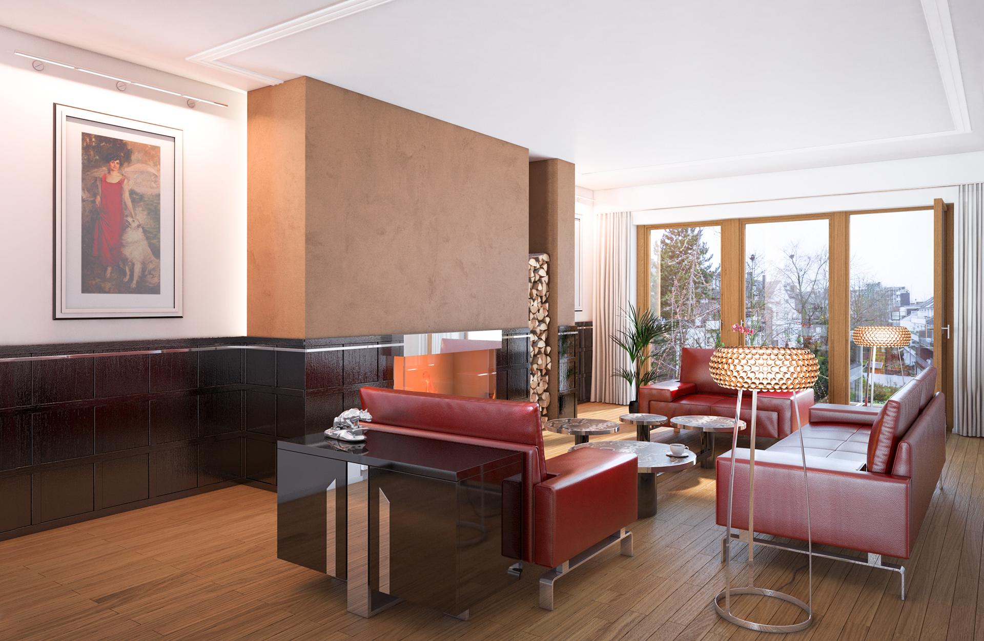 Architekturvisualisierung Mehrfamilienhaus Düsseldorf