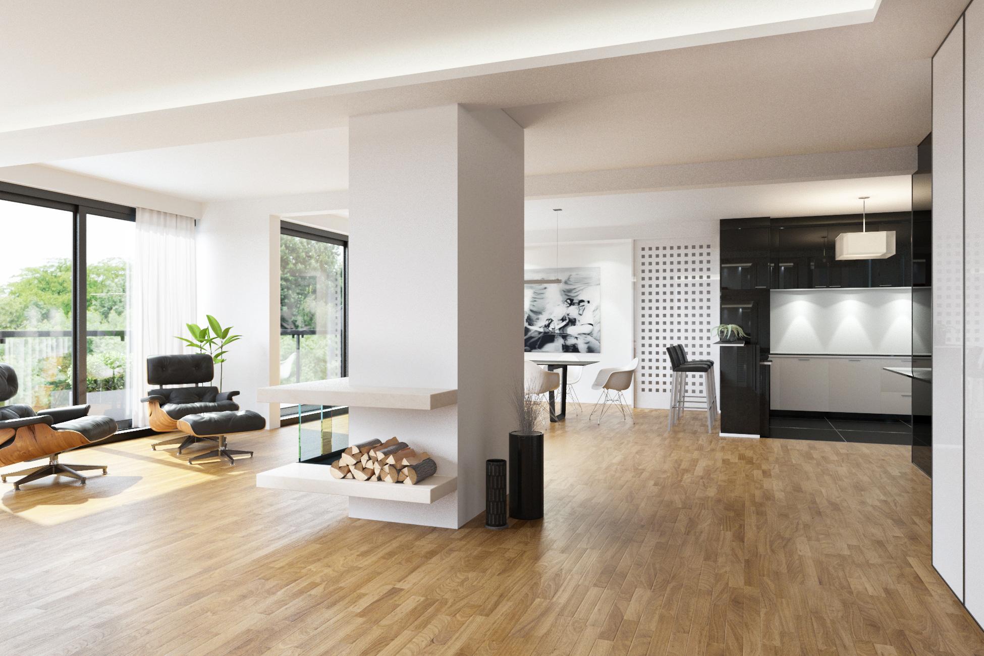3D Visualisierung Penthouse