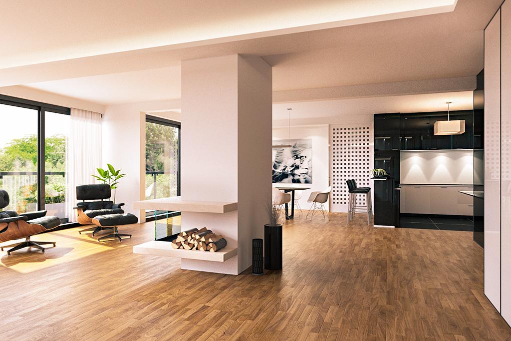 Architekturvisualisierung Penthouse