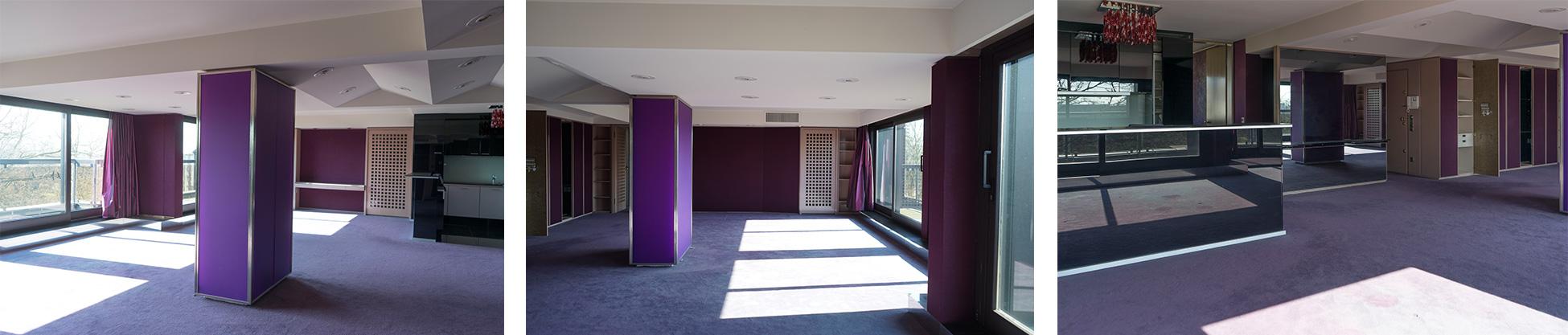 Penthouse vor Umbau