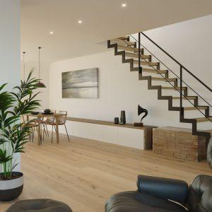 Architekturvisualisierung-Dachgeschoss