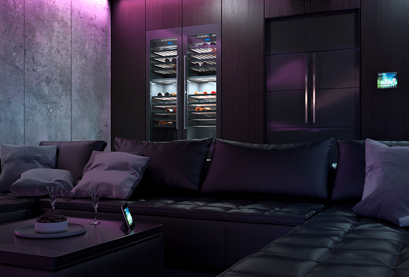 3d visualisierung heimkino in d sseldorf. Black Bedroom Furniture Sets. Home Design Ideas