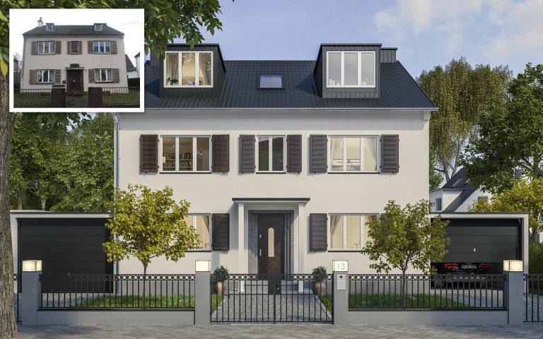 Immobilien Inwertsetzung Einfamilienhaus