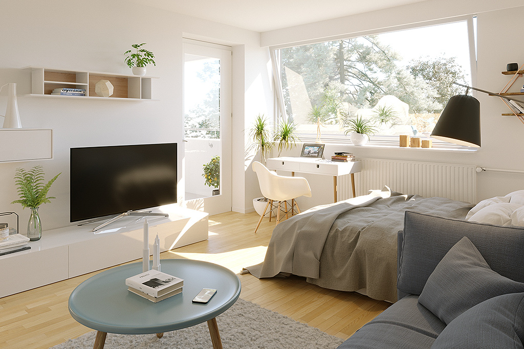 Virtuelles Home Staging