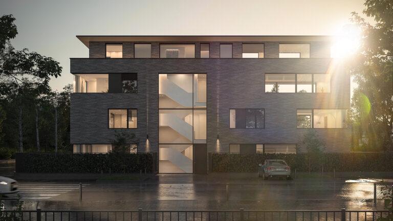 Architekturvisualisierung Neubau Köln