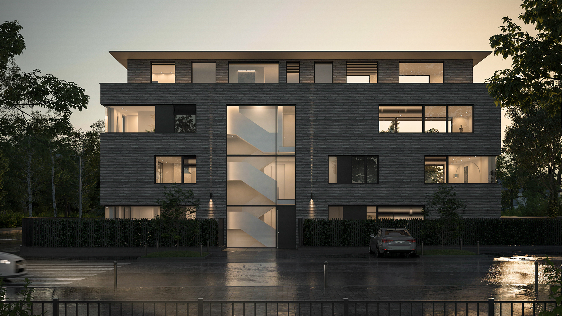 Neubau am Kölner Stadtwald