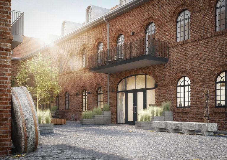 Mertenshof Gutshof Visualisierung