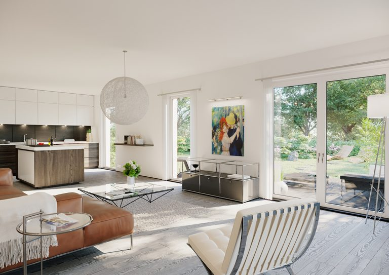 Innenvisualisierung Mehrfamilienhaus