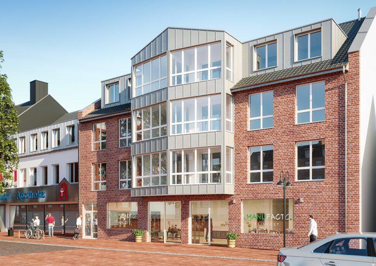 Visualisierung Mehrfamilienhaus Bottrop