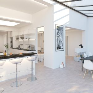 3D Visualisierung Stadthaus