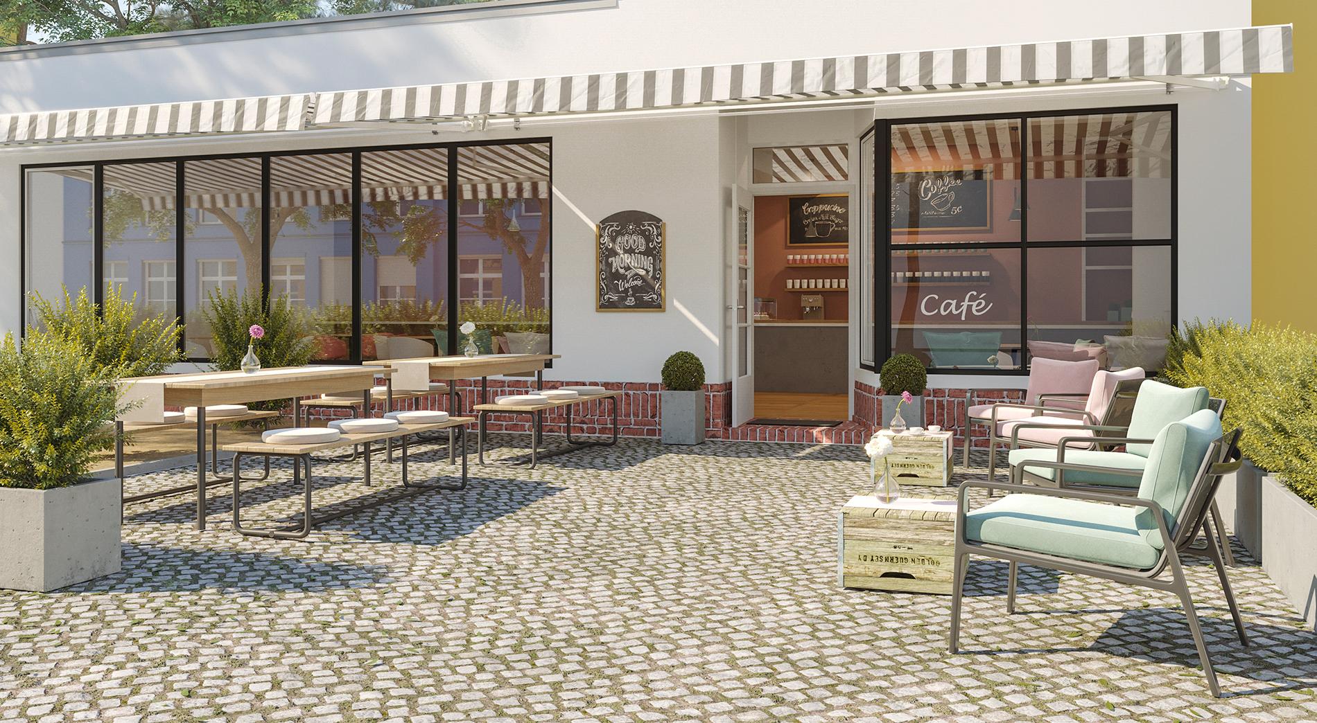 Visualisierung Café