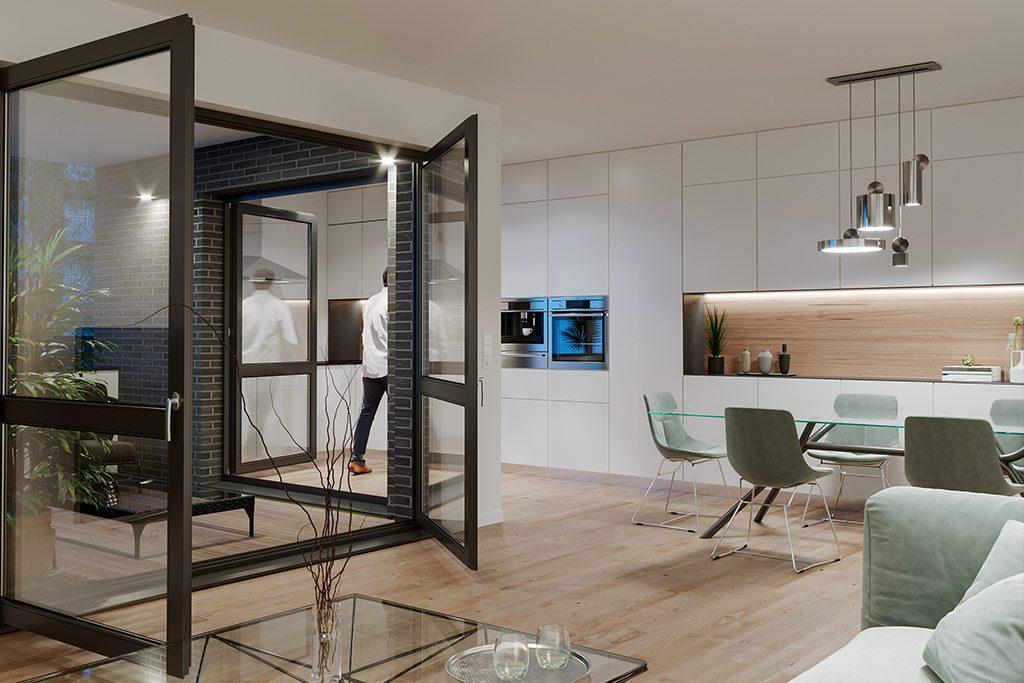 Architekturvisualisierung Wohnung