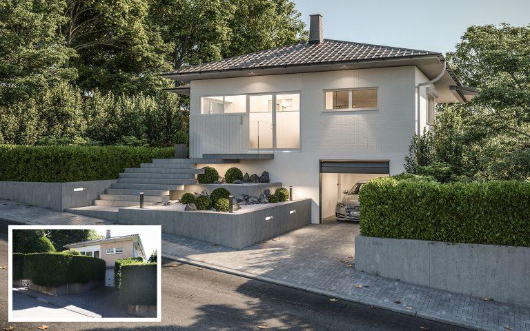 Umplanung Haus Aachen