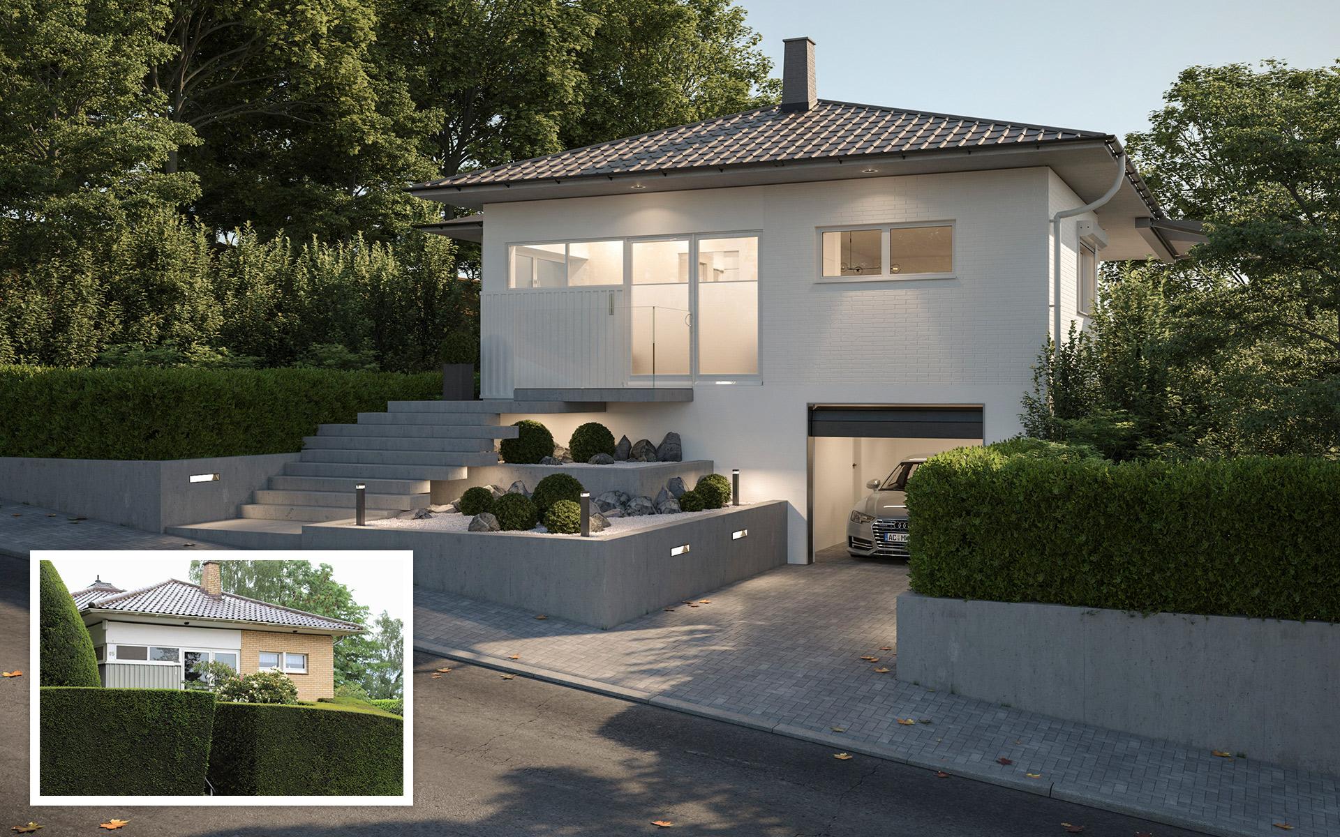 Umplanung Einfamilienhaus