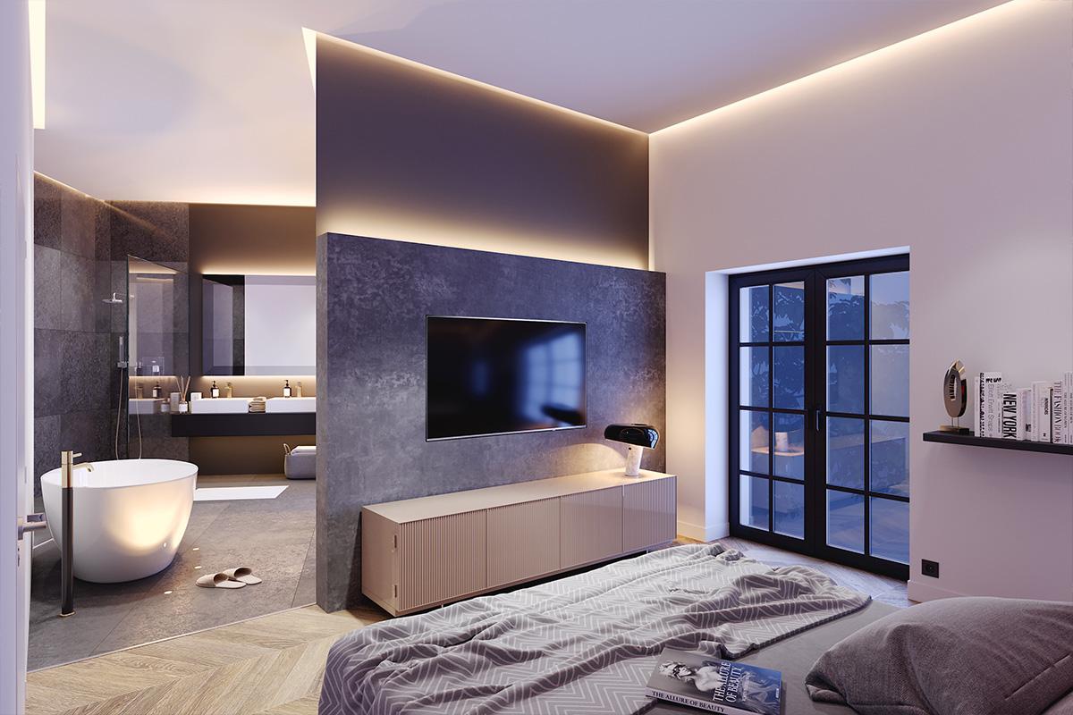 Architekturvisualisierung Loft
