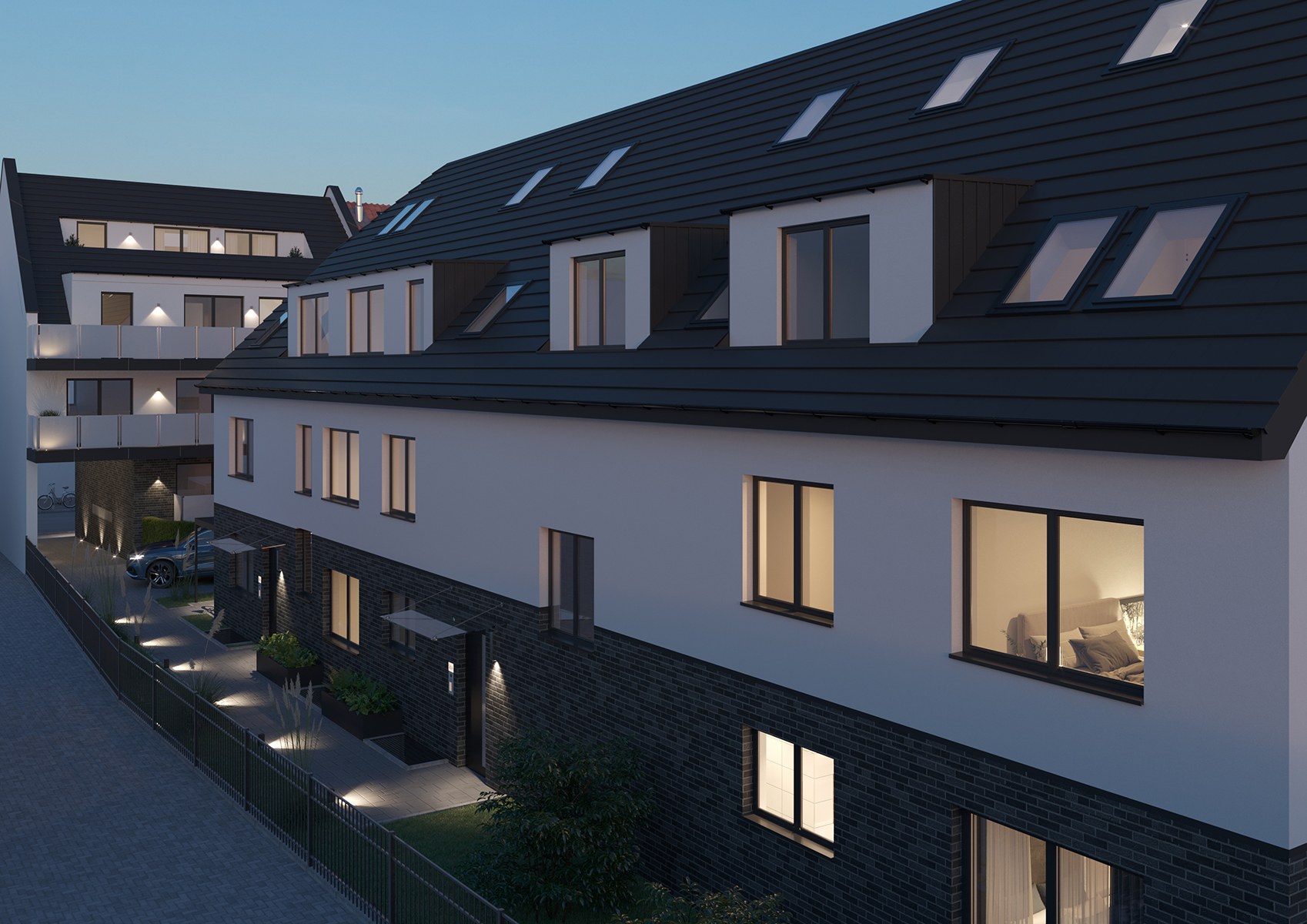 3D Visualisierung Bauprojekt Köln