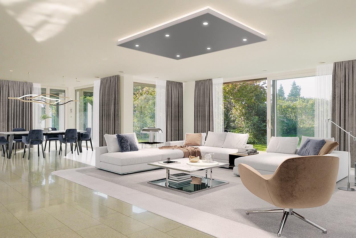 3D Homestaging Wohnzimmer