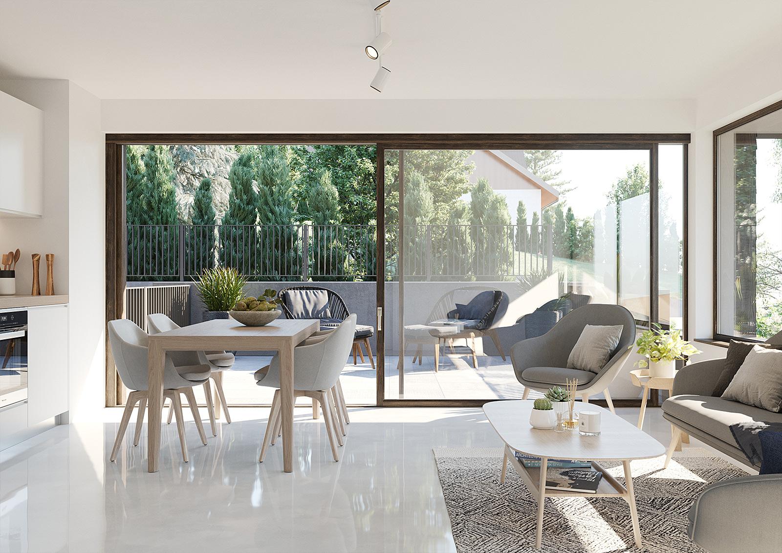 Architektur Visualisierung Wohnung