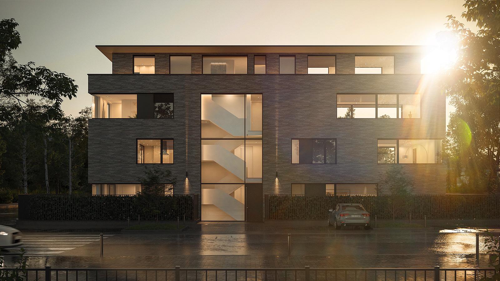 Architekturvisualisierung Neubau