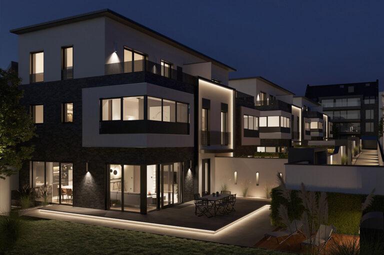 Architekturvisualisierung Wohnanlage