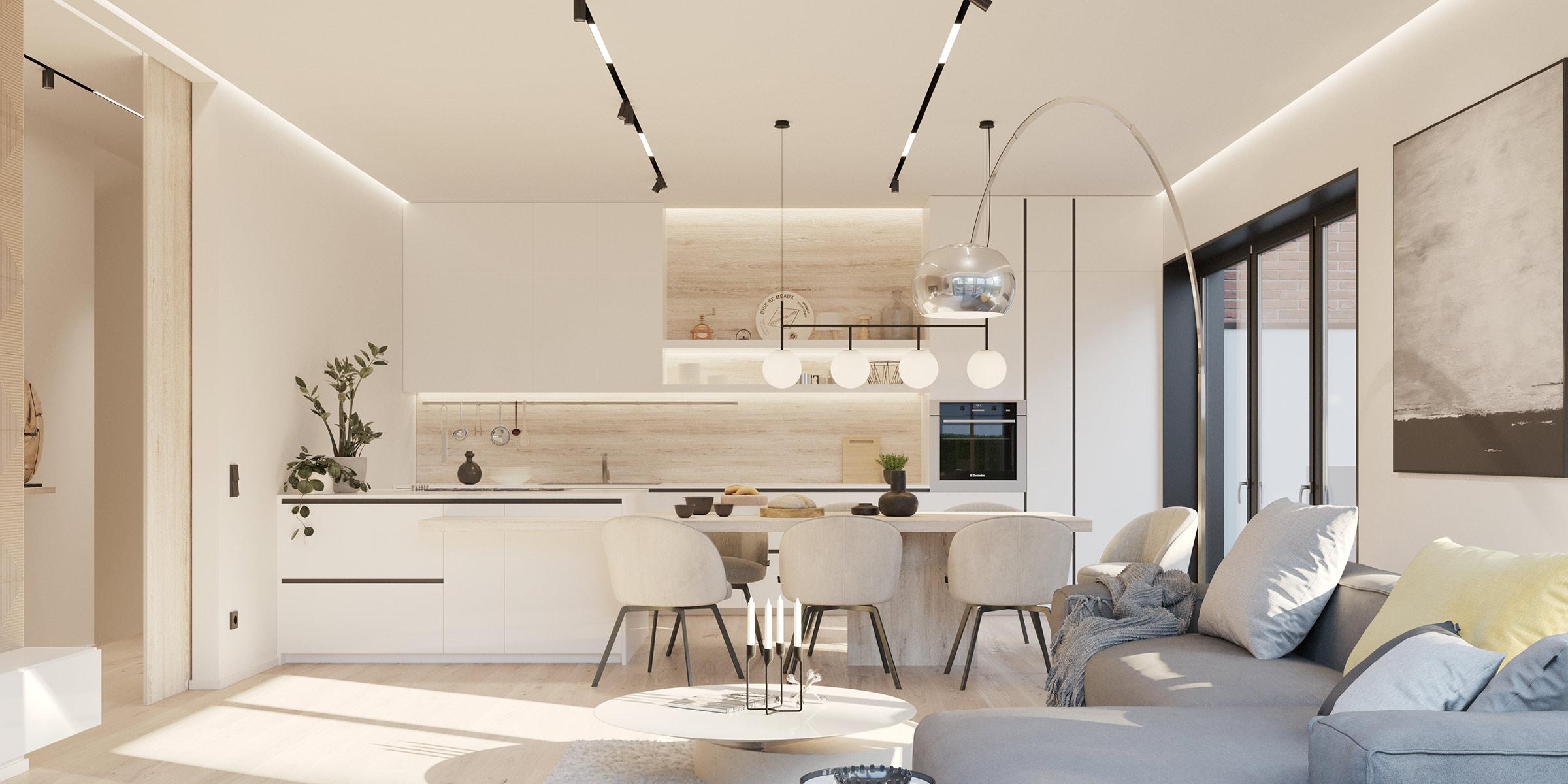 Küche 3D Visualisierung