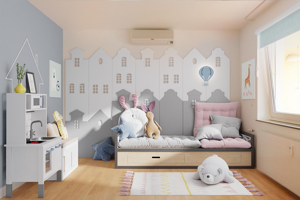 Digital Homestaging Kinderzimmer