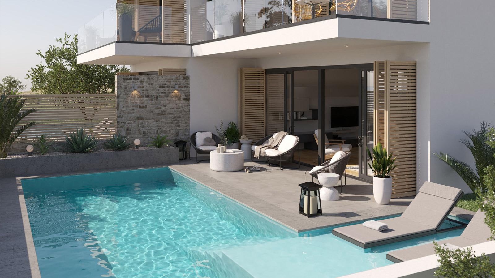 3D Visualisierung Ferienhaus